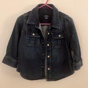 GAP Baby Jean Shirt - Size 12-18 Months